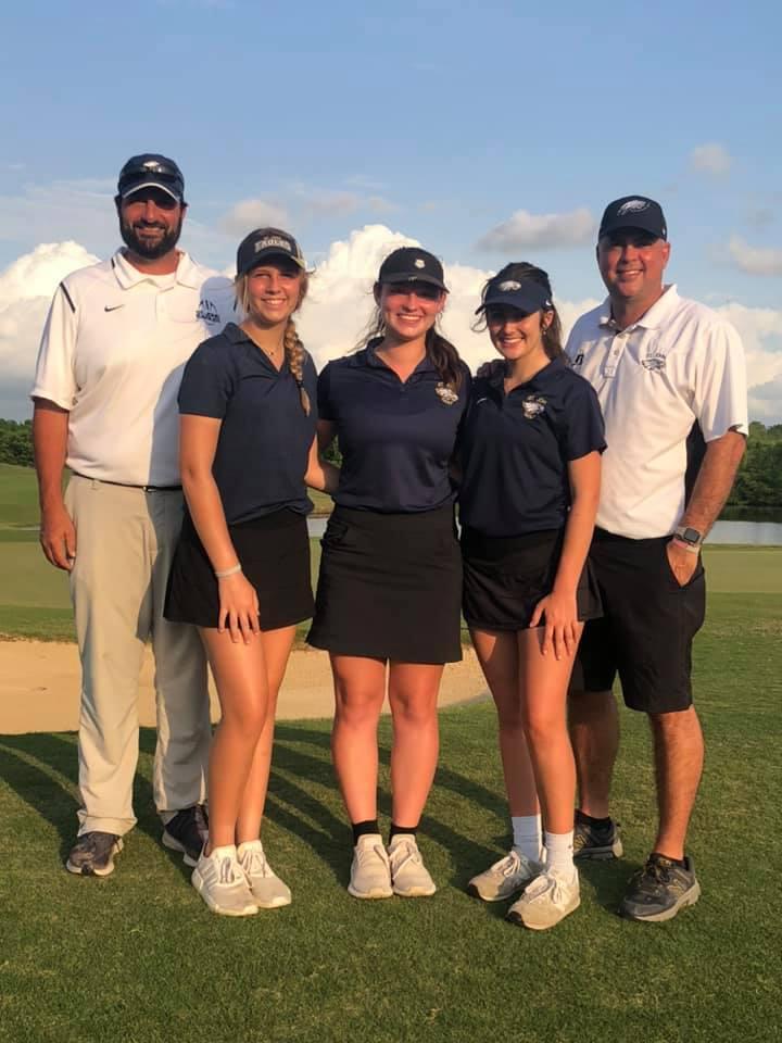 Image of female golf team