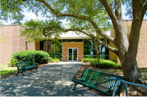 image of Plaquemine Library entrance