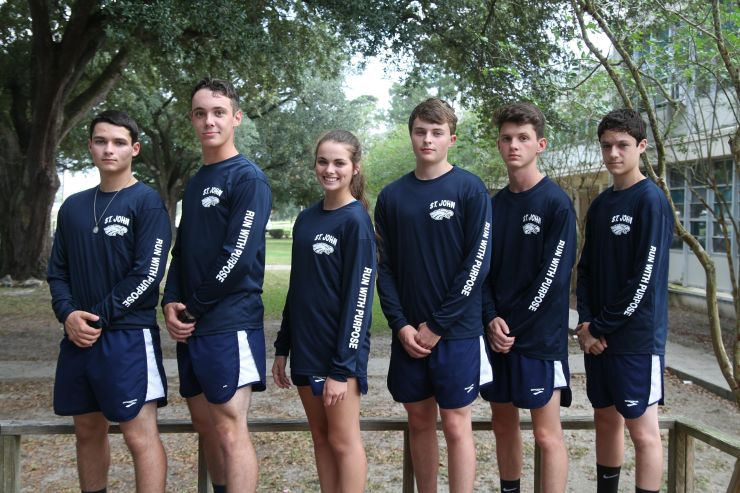 Eagles Cross Country Team