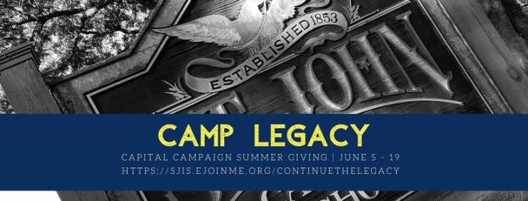 Camp Legacy Summer Giving Campaign June 5 - June 19