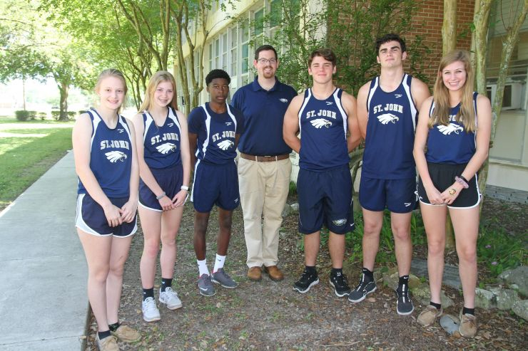 Eagles Track Team 2018